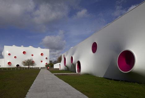 Olympic Shooting Venue by Magma Architecture photo by Steve Bates