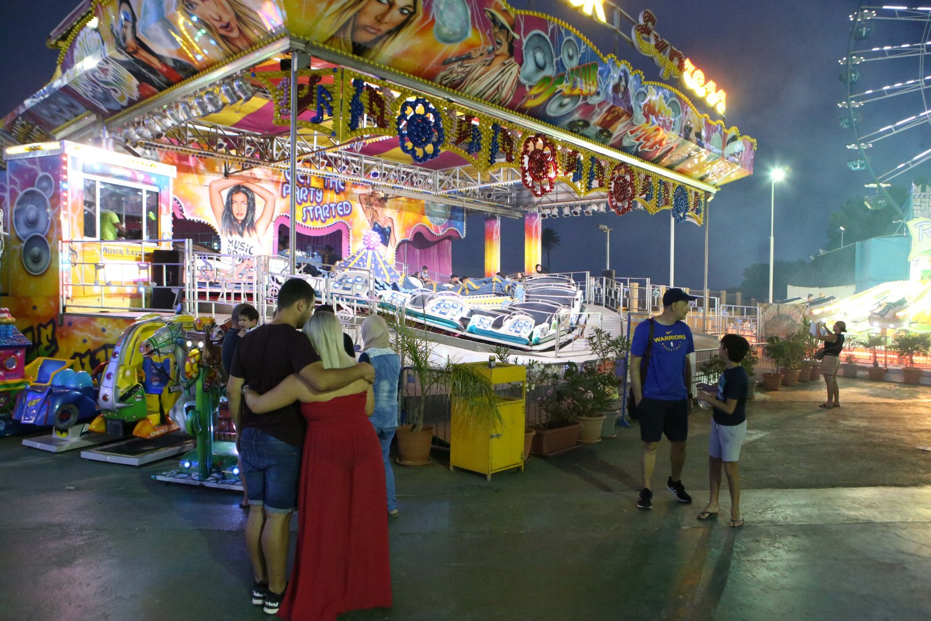 agia napa The fairground is doing quite well with Cypriot visitors 1920x1280 cm